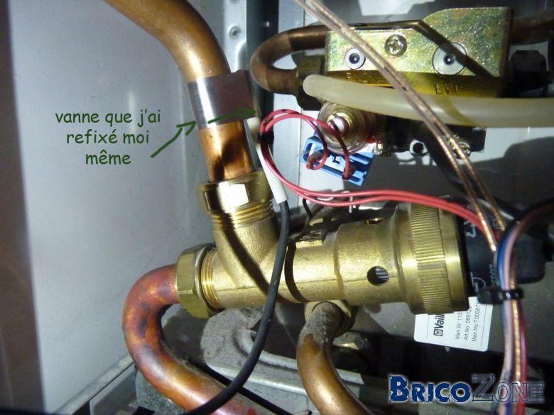Probl me chaudi re gaz vaillant - Plus d eau chaude chaudiere ...
