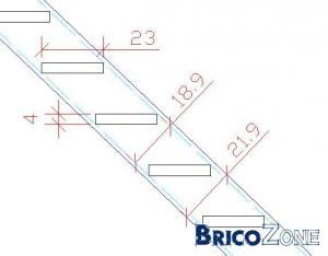 calcul escalier dans une petite pièce