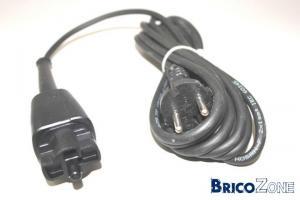 c�ble d'alimentation d'une meuleuse black et decker BD11