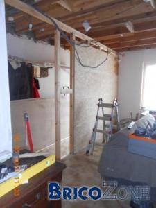 reportage photos travaux renovation hall + salon