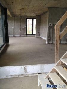 Notre future maison par corps de m�tier s�par�s.