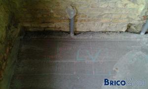 location de pompe/compteur passage injection mur