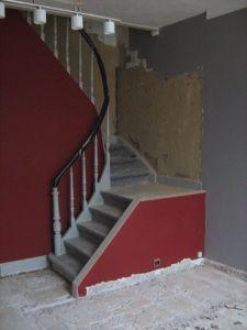 rampe escalier demi tournant. Black Bedroom Furniture Sets. Home Design Ideas