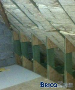 Isolation de mon toit