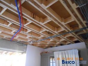 Renforcer plancher chambre - Comment renforcer un plancher bois ...