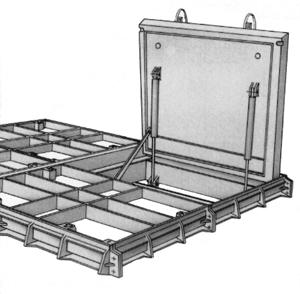 ouverture trappe de cave en bois le d fi. Black Bedroom Furniture Sets. Home Design Ideas