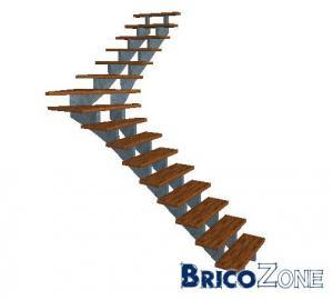 escalier 1/4 ou 2/4 tournant?