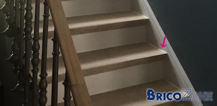 Escalier 2 tons et elastofill - Joint acrylique a peindre ...