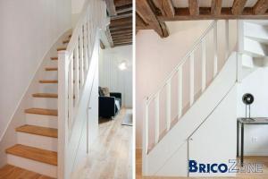 R�nover un escalier en bois - vernis trop fonc�
