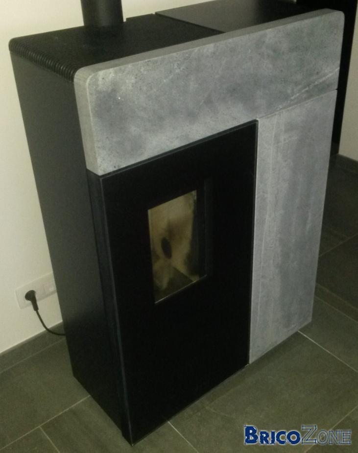 poele rika domo taches sur les pierres. Black Bedroom Furniture Sets. Home Design Ideas