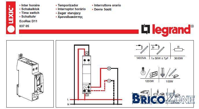 d coration schema electrique interrupteur horaire. Black Bedroom Furniture Sets. Home Design Ideas