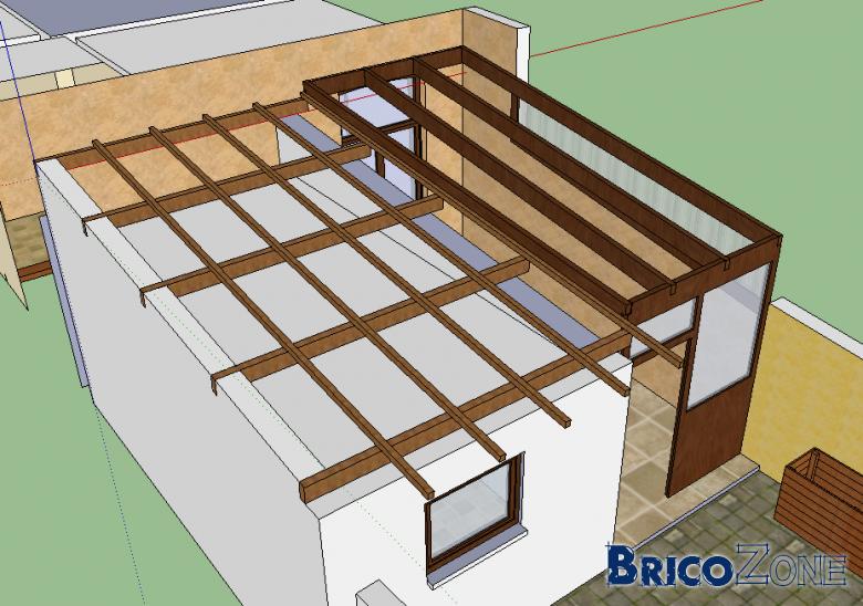 Nouvelle toiture cuisine votre avis - Toiture imitation tuile ...