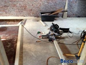 [Plancher] �galiser avec volige/chainage/isolation/OSB3