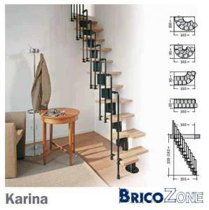 escalier 1 4 tournant pour comble. Black Bedroom Furniture Sets. Home Design Ideas