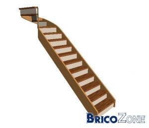 Escalier sur mesure.