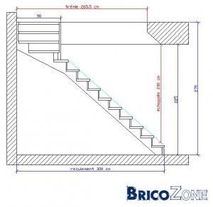 Calcul escalier sur mesure