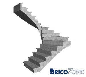 Aide pour tr�mie escalier 1/2 tournant