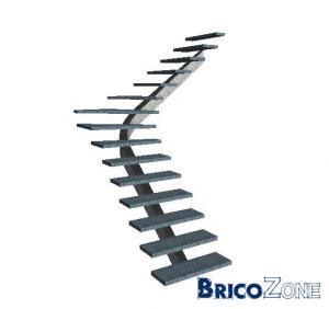 Aide pour trémie escalier 1/2 tournant
