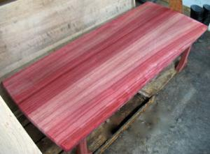 Avis Table en bois de Padouk