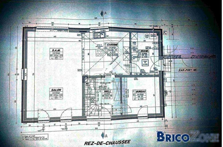 Avis sur plan architecte