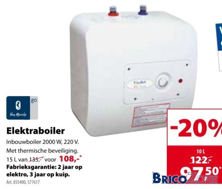 Boiler Electrique 10 Litres Sur Ou Sous Evier