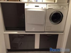 Accessoires vraiment utiles - Support pour machine a laver et seche linge ...