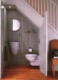 Toilette Sous Escalier