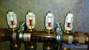 Réglage chauffage sol et radiateurs