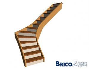 AVIS -Escalier quart tournant