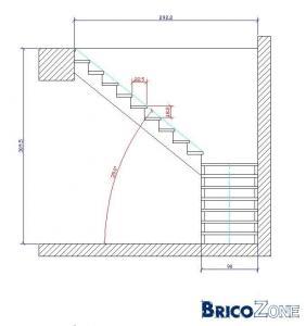 Plan pour un escalier