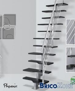 Calcul de mon escalier � pas d�cal�s