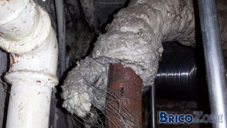 Isolation tuyaux chauffage amiante - Isolation tuyau chauffage central ...