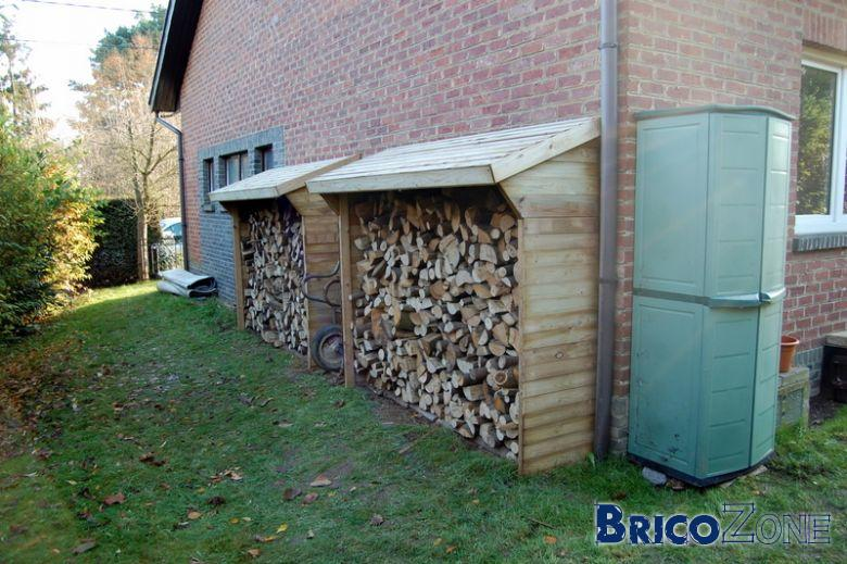 Abri bois de chauffage - Fendeur de buche brico depot ...
