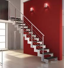 escalier quart tournant en bas