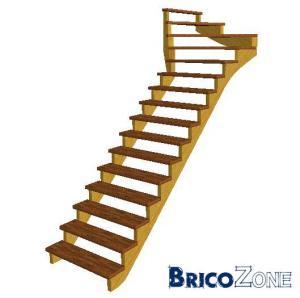 Conseil escalier Quart tournant Haut