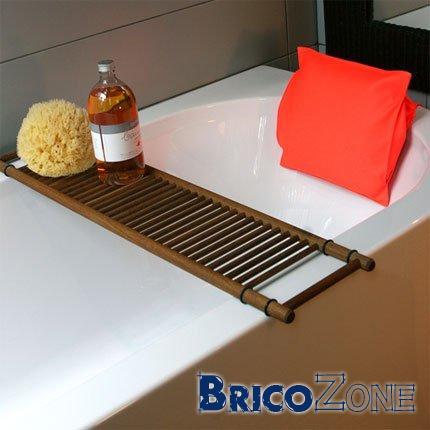 Des id�es pour ranger shampoing sur la baignoire ?