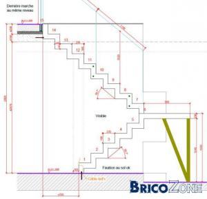 calcul d 39 un escalier demi tournant besoin d 39 avis. Black Bedroom Furniture Sets. Home Design Ideas