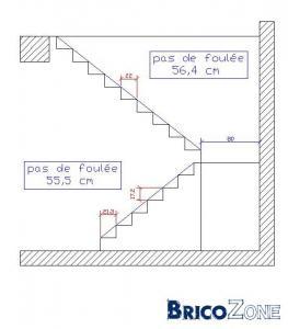 Calcul d 39 un escalier demi tournant besoin d 39 avis for Calcul eclairage exterieur