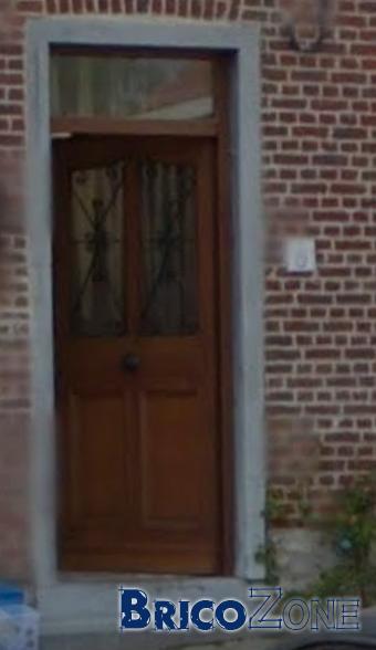 Seuil porte d 39 entr e for Poncer une porte