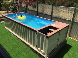 pool conteneur