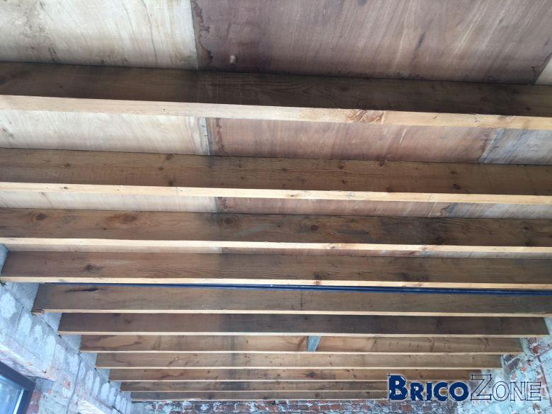 Poids faux plafond et charge solive