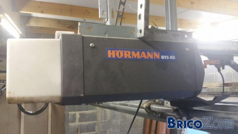 Raccordement lectrique d 39 un moteur de porte de garage - Moteur porte de garage hormann supramatic ...