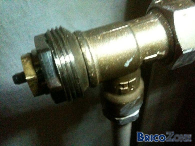 Comment remplace une vanne thermostatique