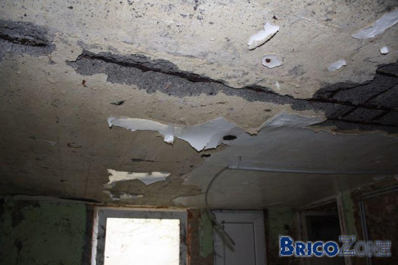 renforcer un plafond beton ab m. Black Bedroom Furniture Sets. Home Design Ideas