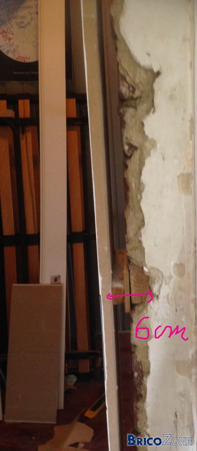 Espace Entre Porte Et Carrelage porte: espace trop grand entre ebrasement et mur