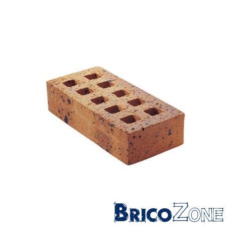 Briques creuses et briques pleines.