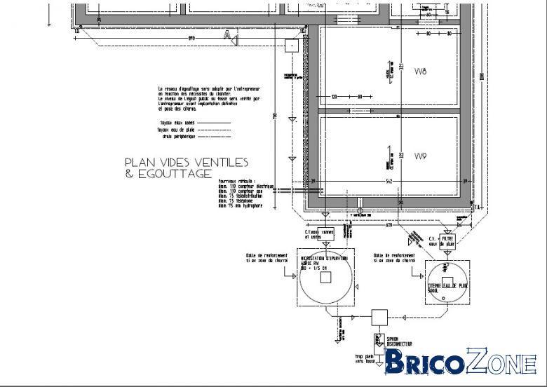sch ma ventilation fosse septique toutes eaux ventilation primaire wc. Black Bedroom Furniture Sets. Home Design Ideas