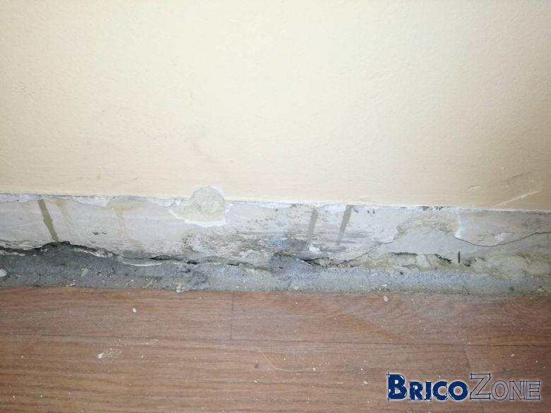 Reboucher trou mur beton affordable agrable reboucher trou mur exterieur tiez breiz changement - Reboucher trou mur placo ...