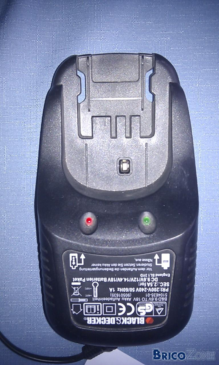 chargeur Black and Decker