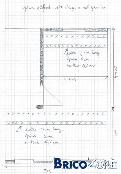 section de poutre pour plancher. Black Bedroom Furniture Sets. Home Design Ideas